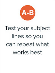 Email a b test